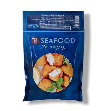 Aliaskinės Rudagalvės menkės kepsneliai, paniruotėje, MSC, šald., 15*300g, R Seafood