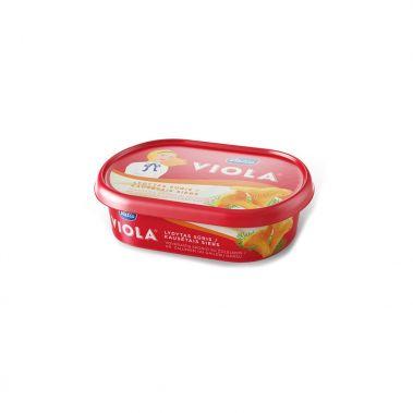 Sūris lydytas su žalumynais ir voveraitėmis Viola, rieb. 38%, 7*185g, Valio
