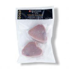 Tuno Geltonpelekio steikas, b/o, b/ašakų, 180-220g, šald., 10*400g (gr.k. 360g), R Seafood,