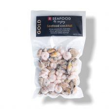 Jūros gėrybių mišinys (Vannamei krevetės, midijų mėsa), šald., vak., 20*200g, R Seafood Gold