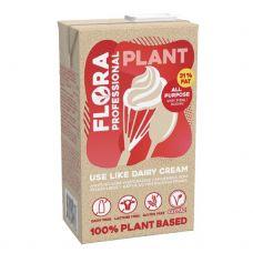 Grietinėlė  augalinė, rieb. 31%, 8*1L, FLORA Professional