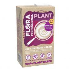 Grietinėlė augalinė, rieb. 15%, 8*1L, FLORA Professional