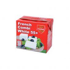 Sūrio produktas French Combi White, rieb. 55%, 12*500g, Flechard