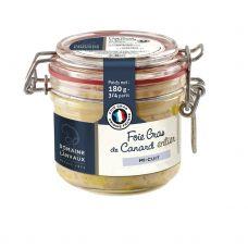 Antienos kepenėlės (foie gras), paruošt., stikl., 12*180g, DDL