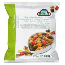 Daržovių mišinys griliui,  IQF, 5*1kg, Greens
