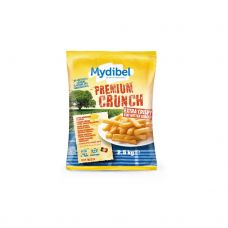 Bulvės fri Premium Crunch, 10x10mm, šald., 4*2.5kg, Mydibel