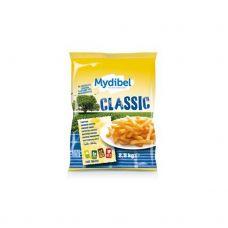 Bulvės fri Classic, 9x9mm, šald., 4*2.5kg, Mydibel