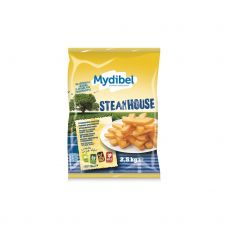 Bulvės fri Steak House, 10x20mm, šald., 4*2.5kg, Mydibel