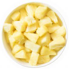 Ananasai, pjaust. kubeliais, 10x12mm, IQF, 4*2.5kg