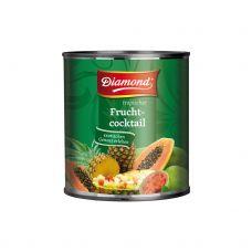 Kokteilis egzotinių vaisių, konserv., 6*3kg (gr.k. 1.8kg)