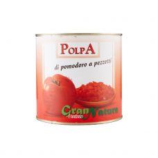 Pomidorai, b/o, pjaust., 6*2.5kg (gr.k. 1.85kg)