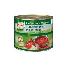 Pomidorai, b/o, pjaust., Pronto, 6*2kg (gr.k. 2kg), Knorr