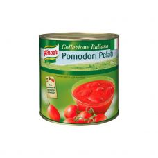 Pomidorai, b/o, nepjaust., savo sultyse, 6*2.5kg (gr.k. 2.5kg), Knorr