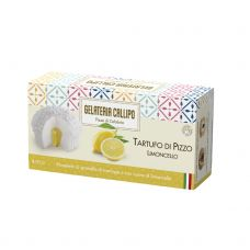 Desertas ledai citrinų kremo Tartufo Limoncello su beze gabaliukais, šald., 8*220g (2*110g), Callipo Gelateria