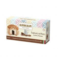 Desertas ledai kavos su pienu Tartufo su migdolų gabaliukais, šald., 8*220g (2*110g), Callipo Gelate