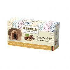 Desertas ledai lazdynų riešutų-šokolado Tartufo, šald., 8*220g (2*110g), Callipo Gelateria