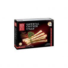 Užkandžiai Cigarai su vištiena, šald., 50vnt., 6*1kg, OrienBites
