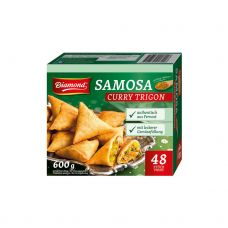 Užkandis Samosa su daržovėmis ir kario padažu, šald., 48vnt., 10*600g, K&K