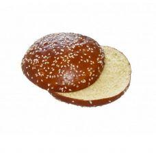 Bandelė Hamburgerio Brioche Pretzel, su sezam., perpjauta, RTE, sald., 60*80g, Edna