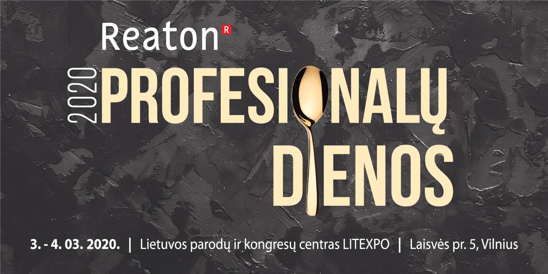 """""""Reaton"""" profesionalų dienos"""